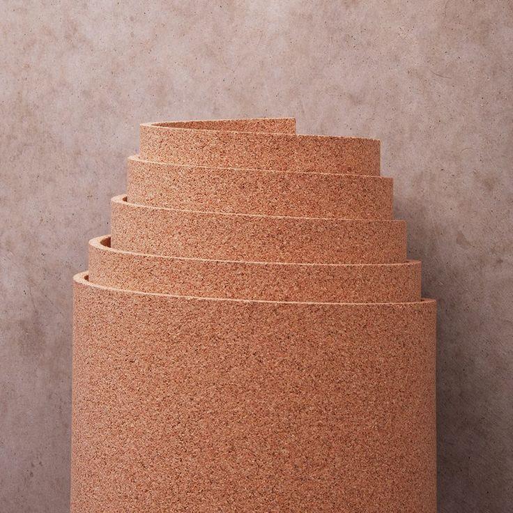 3' width x 7' length x 1/4 thick Cork Roll