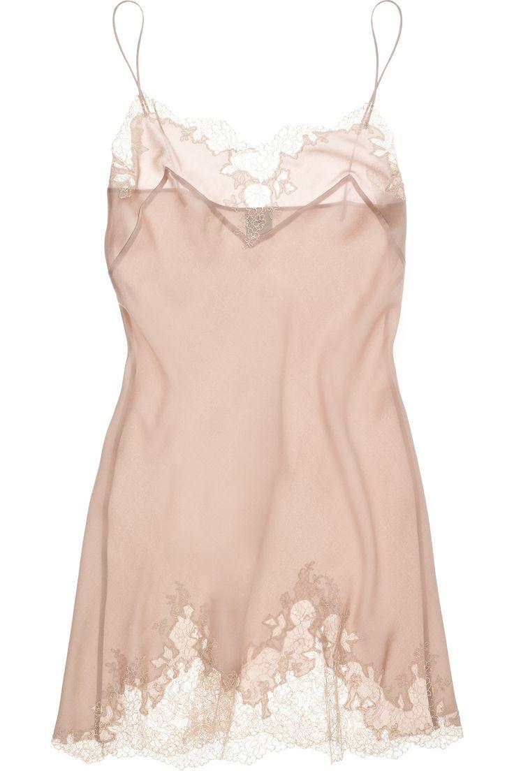 Carine Gilson | Thème Egérie silk crepe de chine chemise - Lingerie, Sleepwear & Loungewear - http://amzn.to/2ieOApL