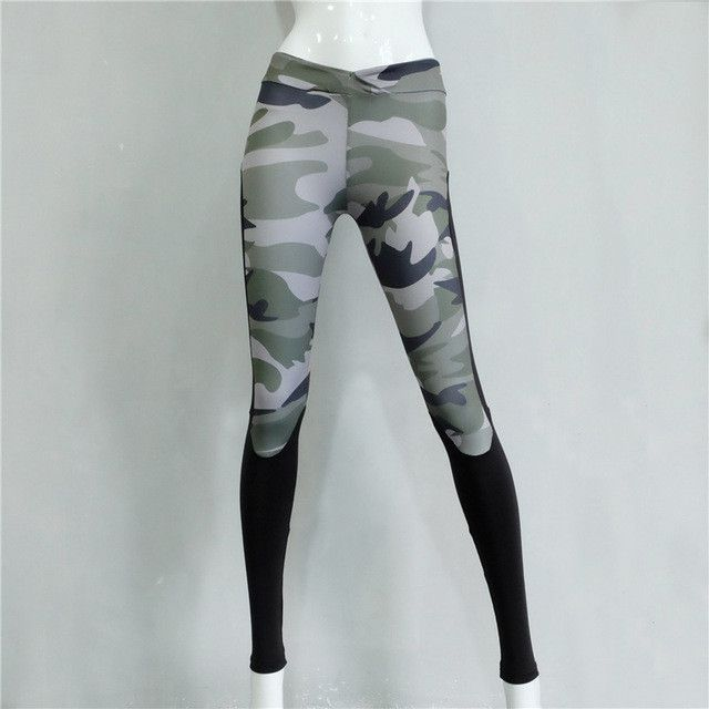 camouflage camo legging women sportswear military army workout clothes for women female work out clothing fitness HP0076
