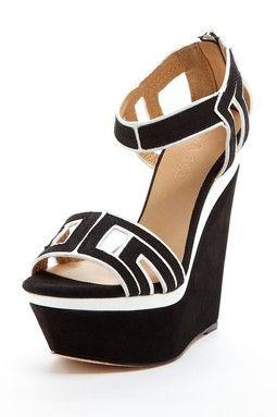 L.A.M.B. Iva Wedge Sandal