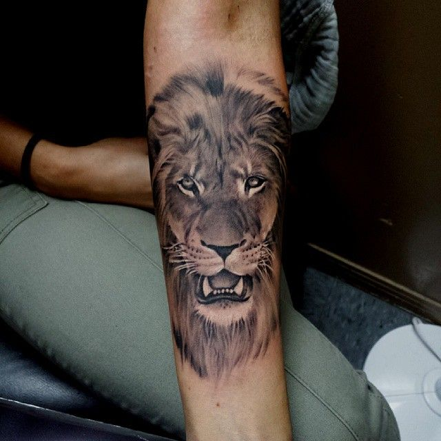 #liontattoo on @im__not__sorry