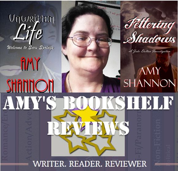 It is my pleasure to introduce you to Amy C. Shannon, book reviewer and author of over 100 published poems and stories. It is an honor to be able to help promote the June 9 release of her latest book, Fettering Shadows, which is coincidentally also her birthday. So happy birthday Amy, from all of us! I hope you enjoy learning more about Amy, her books and her book review blog.    Introducing author and book blogger Amy Shannon  I am a single mother of four boys, and we live in upstate New…