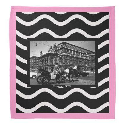 #vintage - #Vintage Austria Vienna Fiaker Staatsoper opera Bandana