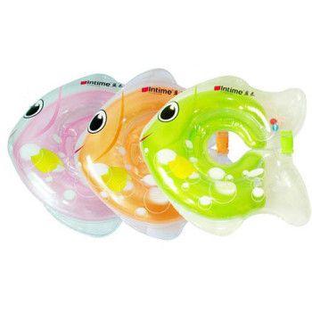 Fish carino Sussidio di Nuoto del Galleggiante del Collo Anello di Sicurezza Del Bambino di Nuotata Acqua giocattolo Divertente