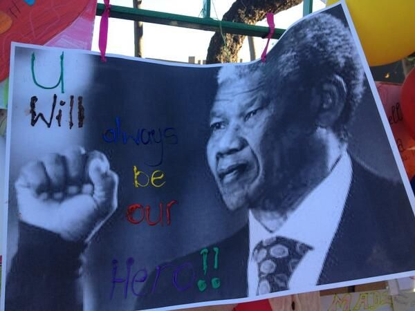 More messages on the wall. Picture: Leila Magnus, SABC Radio Reporter