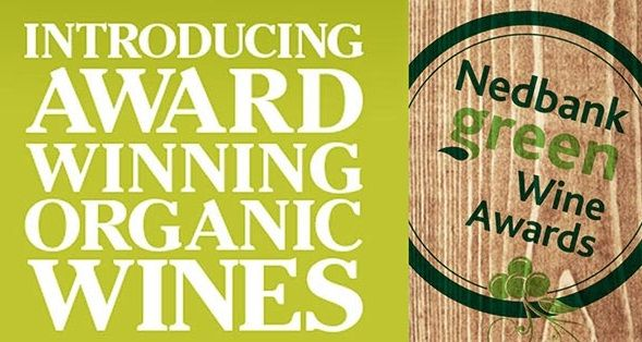 Earth friendly, award-winning organic wines from the 2015 Nedbank Green Wine Awards.