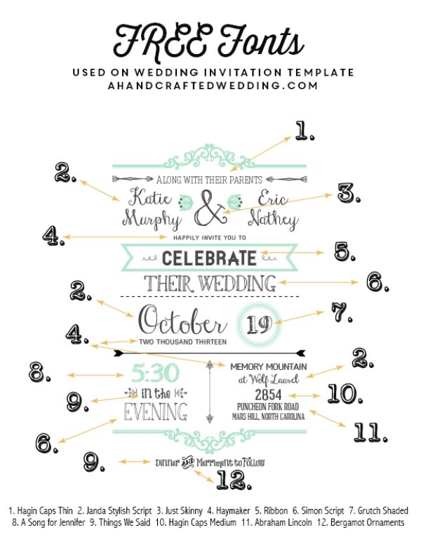 138 best FREE Printables images on Pinterest Free printable - free invitation designs