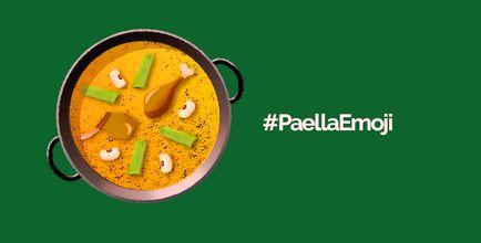 Desde @CAGUTQUIROS nos sumamos para que la #paella tenga su propio emoticono. #PaellaEmoji #Falles2015