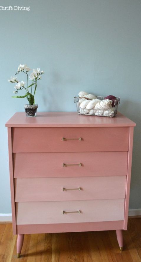 creating an ombre effect relooking meubles pinterest meubles relooking et meubles peints
