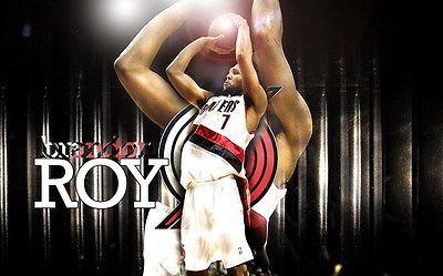 "375 NBA Super Stars - Brandon Roy Blazers Shooting Basketball 22""x14"" Poster"