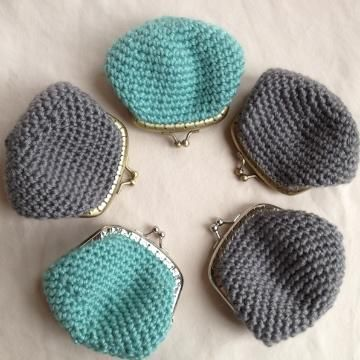 Now you can make my crocheted Kisslock Coin Purse by purchasing the pattern on…