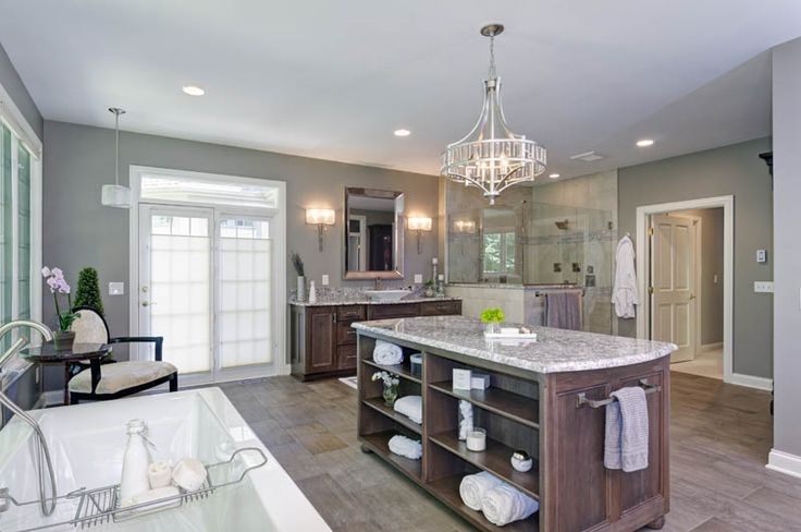 CotY Regional Award Winner - Dave Fox Design Build Remodelers - 2015 Residential Bath - Photo Galleries   NARI
