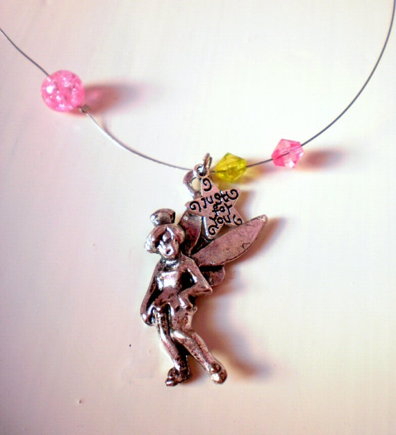 FREE SHIPPING Fairy stainless steel necklace by katerinaki106, $5.00