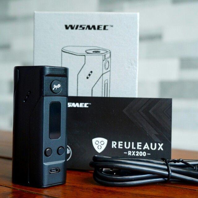 Authentic Wismec Reuleaux RX200  Only at vanillacube.com