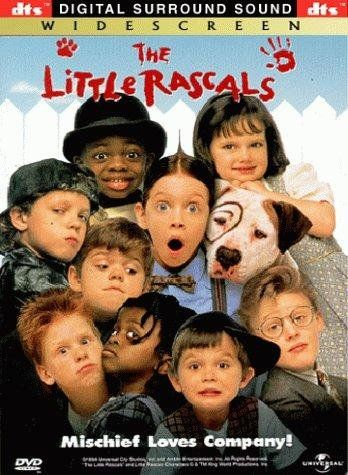 The Little Rascals (1994): I have watched this movie so many times. It is one of my all time favorite movies. We own it and whenever I am bored, I always get this out, because it makes me laugh and brings back memories of watching it as a little girl. I quote this movie from time to time, and if I mention it around a friend and they say they have never heard of it, I make them watch it ASAP.