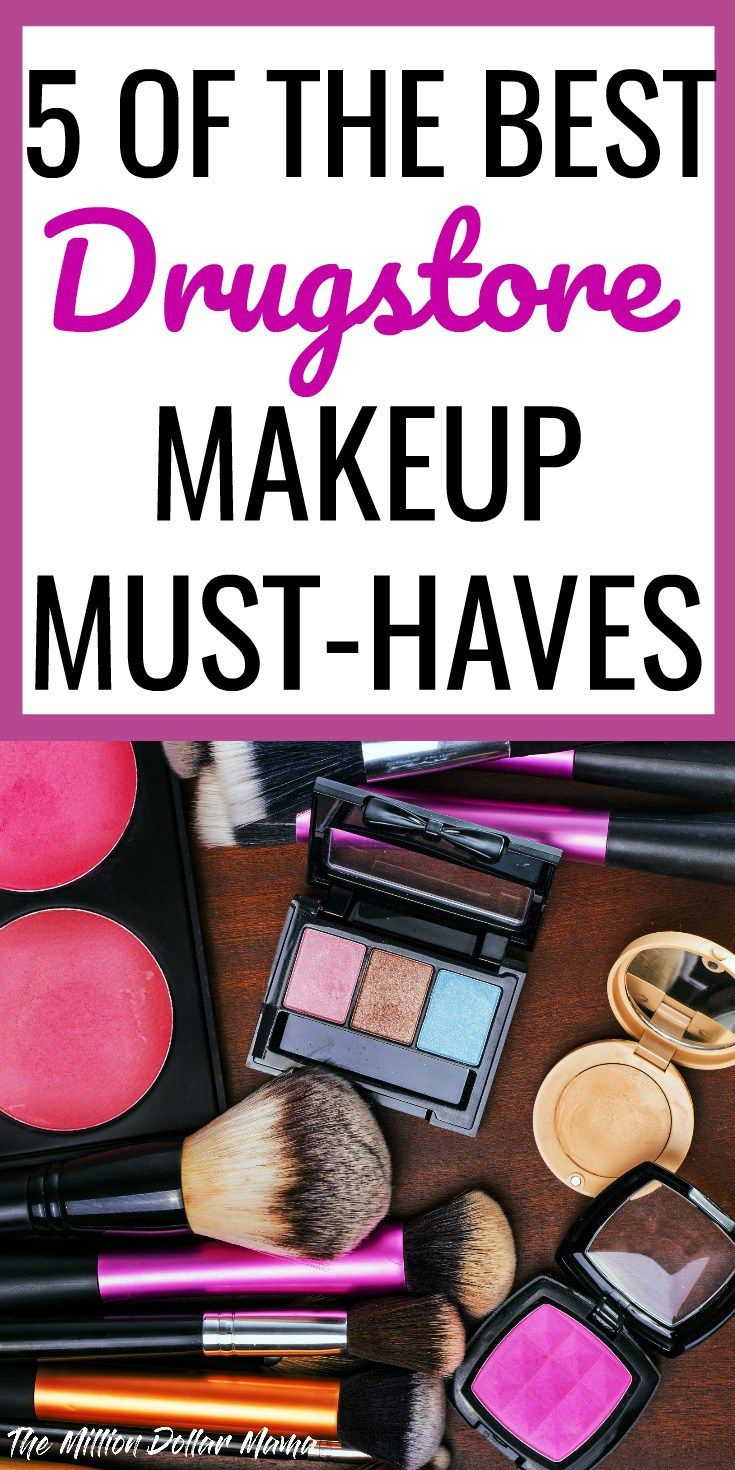 Best Drugstore Makeup - These 5 drugstore makeup must-haves include foundation and other products that actually rival designer makeup brands!