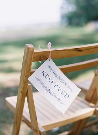 decorations for wedding ceremony 25 best ideas about reserved seating on 3434