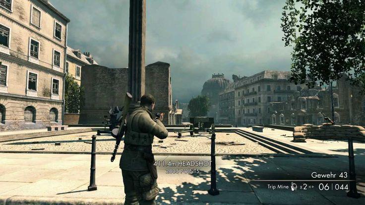 Sniper Elite V2 Longest Head Shot Possible?