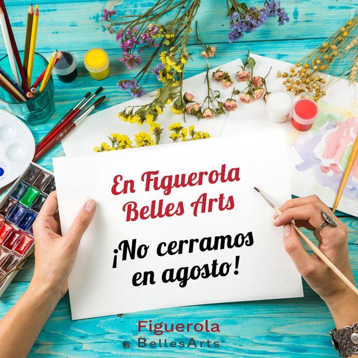 Este agosto puedes seguir haciendo tus pedidos en la tienda online. También ¡te esteramos en nuestra tienda de Sabadell!  (Passeig de la Plaça Major, 74) #materiales #bellasartes #pintura #manualidades #dibujo #materialescolar