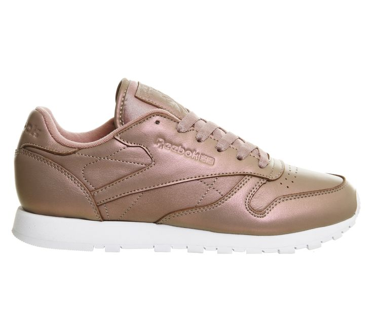 Reebok Classic Leather (w) Rose Gold Pearlised