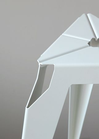 Liyun Design Objects - Sheet metal stool
