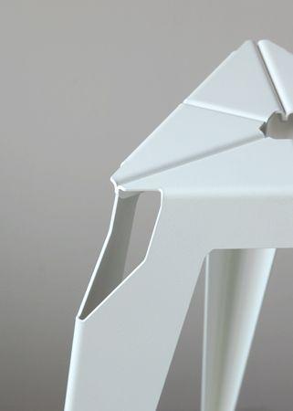 Liyun Design Objects - Sheet metal stool