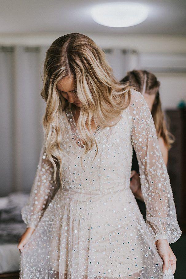 KAYLA + BEN // #wedding #bride #dress #bridalgown #love #bridesmaid #bridalparty