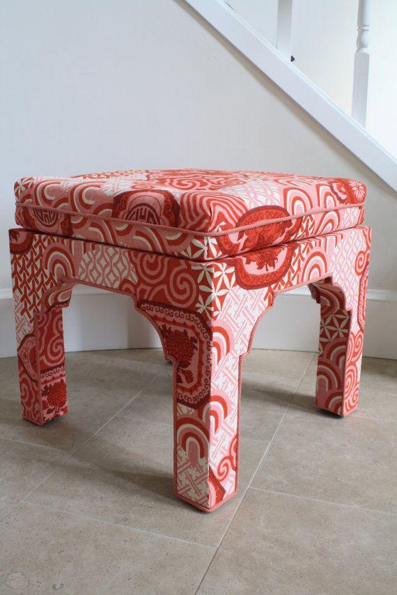 upholstered ottoman stool 2