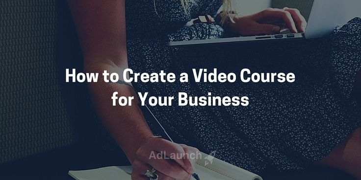 How to Create a Video Course that Generates Leads for Your Business. More info here.