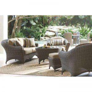 Luxury Wicker Conversation Patio Set patio conversation sets outdoor lounge furniture patio