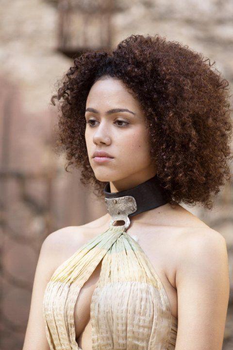Missandei (Nathalie Emmanuel) in Game of Thrones Season 3
