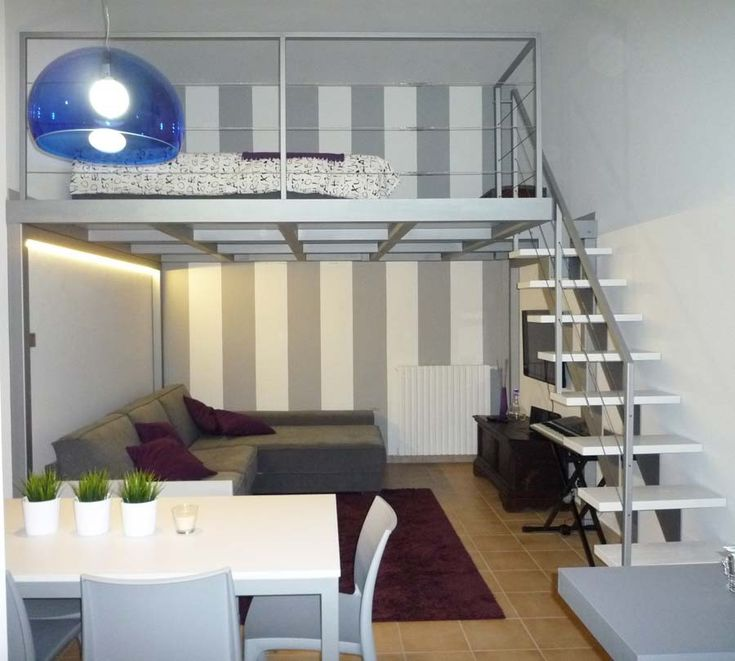 Pi di 25 fantastiche idee su camera da letto a soppalco - Camera con soppalco ...