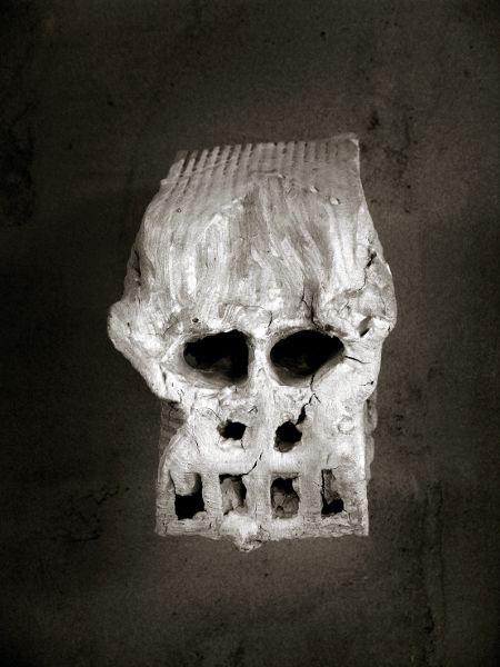 Ample front  |  Ceramics 22,5x19x25cm, Miquel Barceló