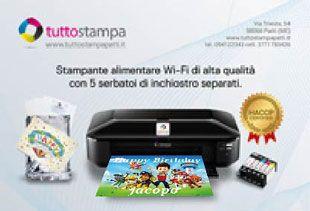 Vendita attrezzature informatiche - Stampanti e inchiostri alimentari