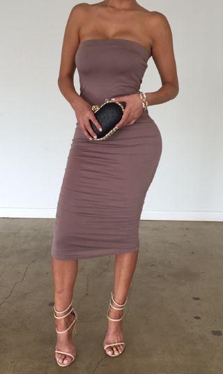 Mocha Tube Dress