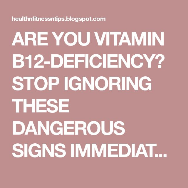 ARE YOU VITAMIN B12-DEFICIENCY? STOP IGNORING THESE DANGEROUS SIGNS IMMEDIATELY! Page 2