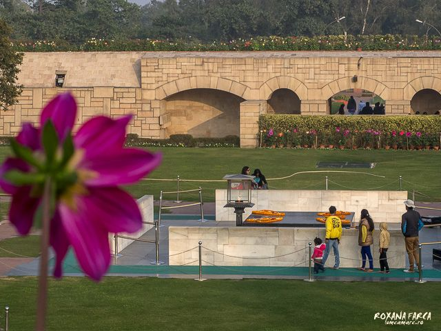 Rajghat, Memorialul Mahatma Gandhi