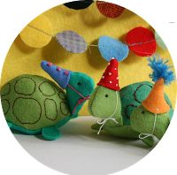 Ric-Rac: Free Patterns - Party Turtles