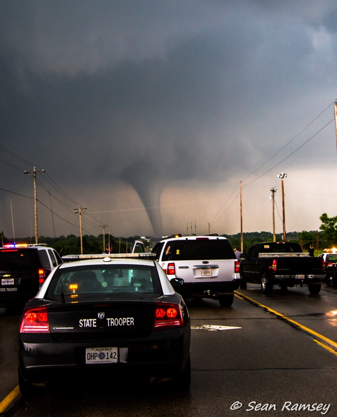 May 20, 2013 ...Moore, Oklahoma tornado I was on the phone with VJP while she was hovering in the hallway at work....