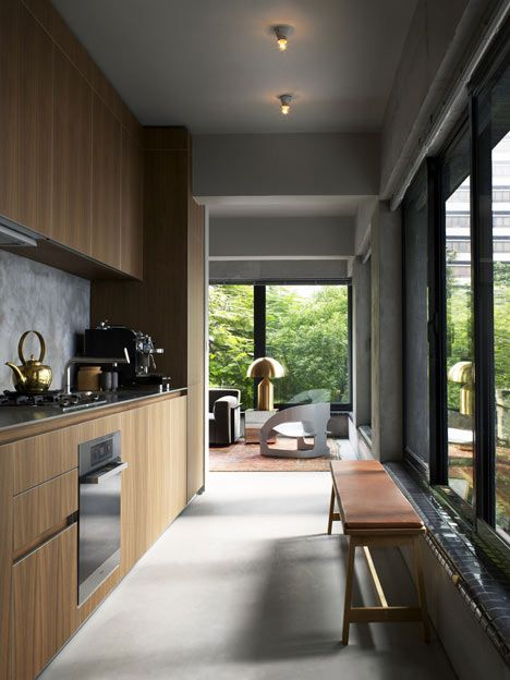Ilse Crawford sleek kitchen