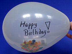 Money balloon gift #birthday #idea