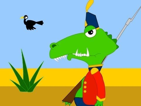 French for kids - by Comptines et chansons - Ah les crocodiles - YouTube