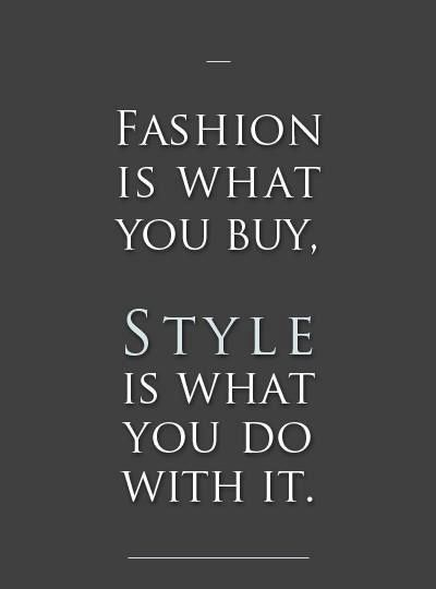 Miss Rich: Fashion quotes