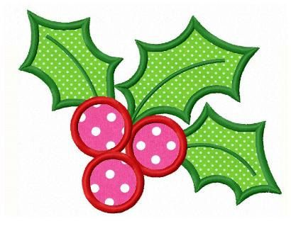 651 best machine embroidery christmas images on pinterest christmas holly applique machine embroidery design dt1010fo