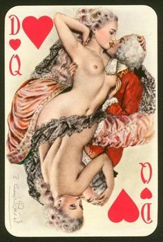 Le florentin erotic playing cards of paulemile becat - 2 part 3