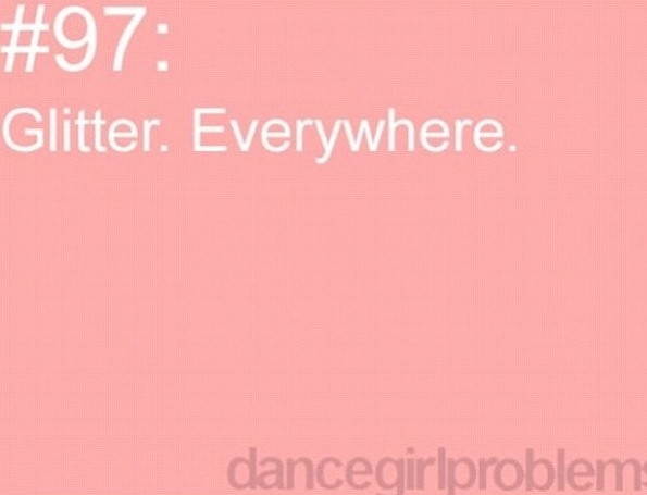 """Dancer problems, although I wouldn't call it a """"problem"""", love it!"""