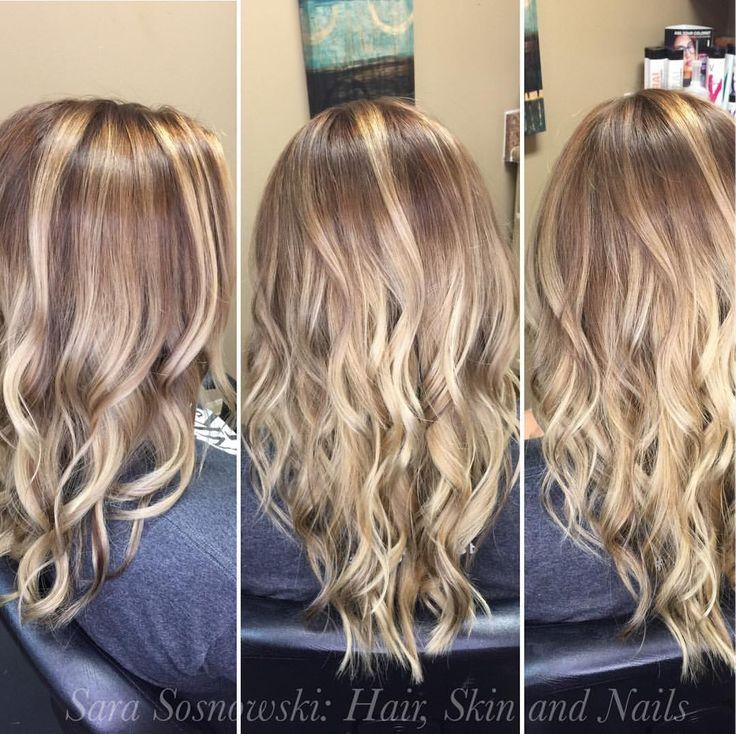 Dreaming of fall  Deepened blonde with shadow root, olaplex to add strength  #fallhair #chocolatebrown #kenraprofessional #olaplex #curlyhair #wavyhair #beachwaves #highlights #balayage #kenra #btcbigshot_haircolor #btcbeforeandafter #notaboxblonde #behindthechair #btcpics #modernsalon #hair #stylist #hairtalk #whocuts #americansalon #hotonbeauty #hairbrained #athensstylist @hotonbeauty @behindthechair_com @american_salon @olaplex @modern_salon_memo @kenra...