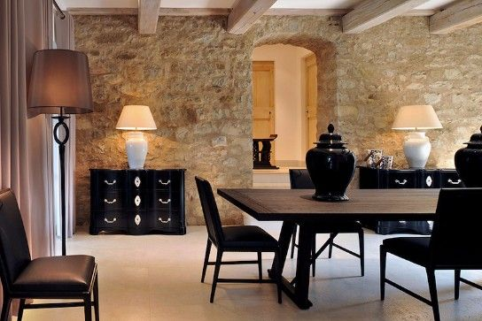Fall in Love with These Wintery Black Dining Tables
