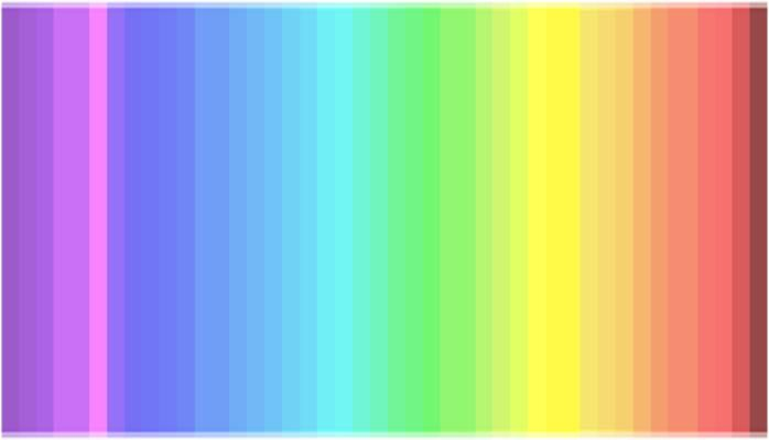 Only 25% of People Can View All of These Distinct Colors. How Many Colors Do You See?