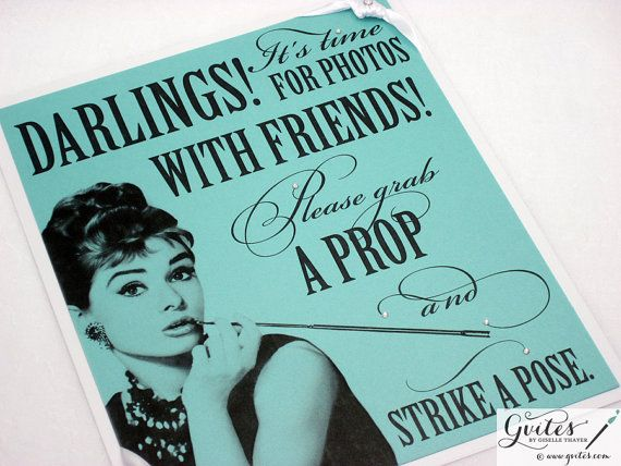17 Best images about Breakfast at Tiffany's theme bridal